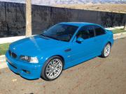 Bmw M3 90100 miles 2003 BMW M3 LAGUNA SECA BLUE ON BLACK COUPE SMG FU